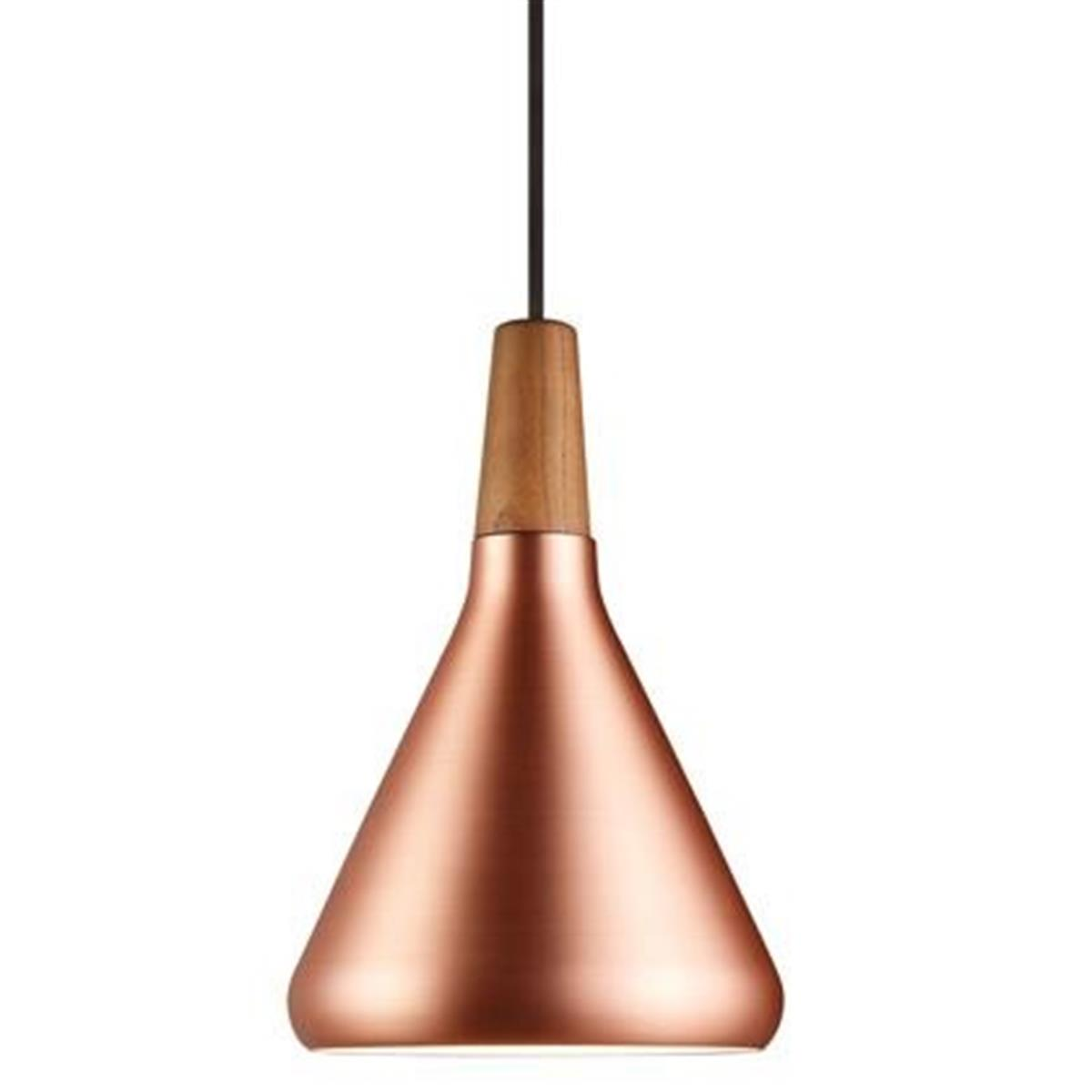 Hanging Lamp Float 18 Copper