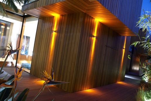 Applique led cube warmwit wall lights